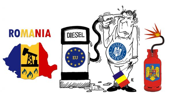 Romanian Oil and Gas Resources Burnt by EU