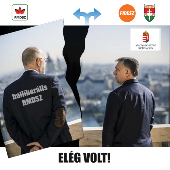 Ne a balliberális RMDSZ-t, hanem az erdélyi magyarokat támogassa a magyar kormány!